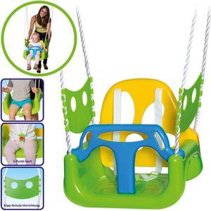 Happy People Kinderschaukel 3in1 (Grün-Gelb) [Kinderspielzeug]